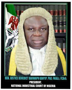 HON. JUSTICE BENEDICT KANYIP